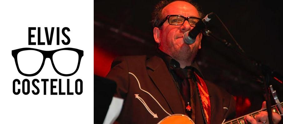 Elvis Costello at Wang Theater