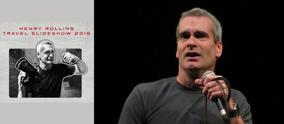 Henry Rollins at Wilbur Theater