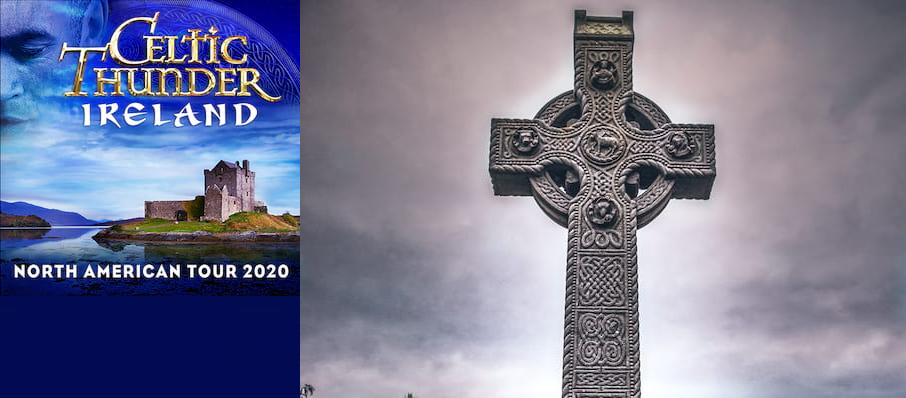 Celtic Thunder at Chevalier Theatre
