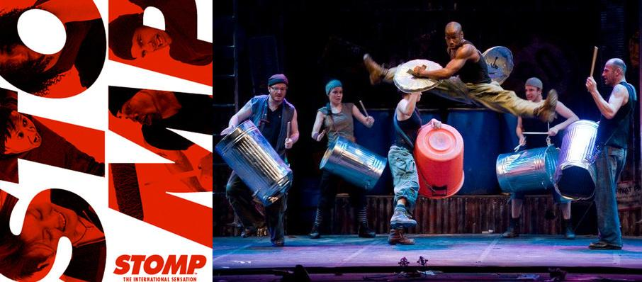 Stomp at Emerson Colonial Theater