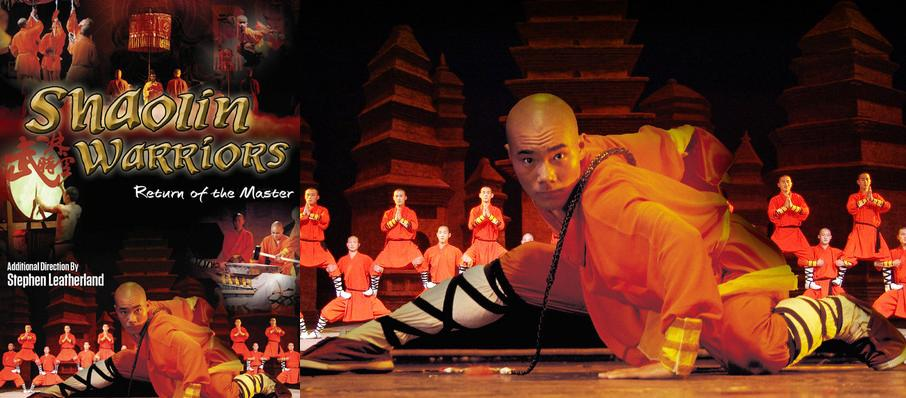 Shaolin Warriors at Orpheum Theater