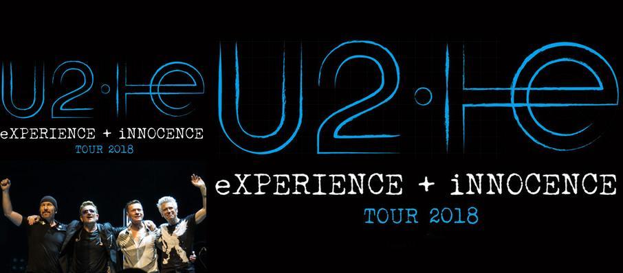 U2 Tickets Calendar Jul 2018 Gillette Stadium Boston