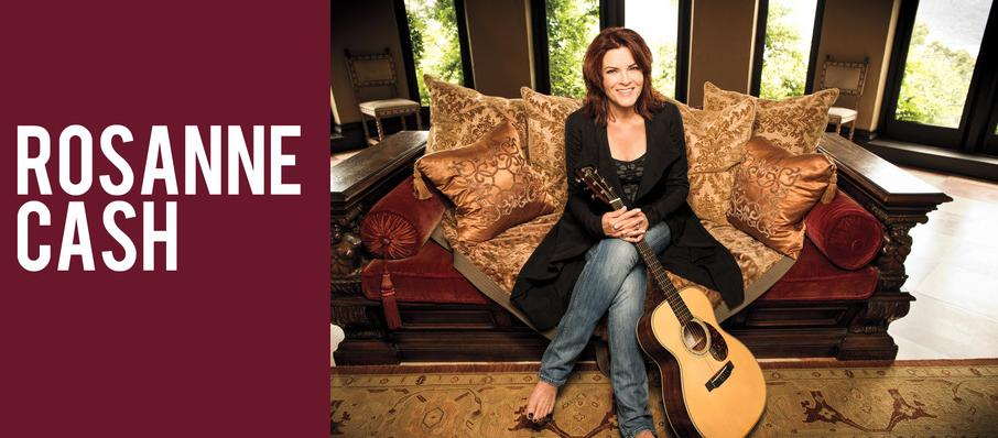 Rosanne Cash at Wang Theater