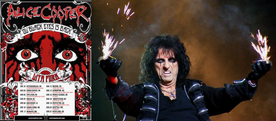 Alice Cooper at Wang Theater