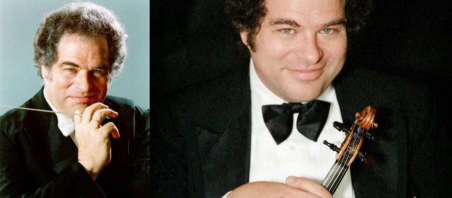 Itzhak Perlman at Boston Symphony Hall