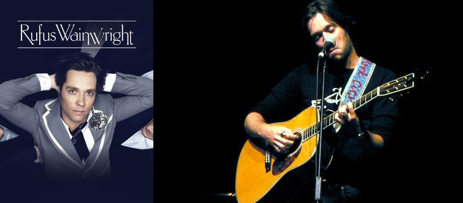 Rufus Wainwright at Emerson Colonial Theater