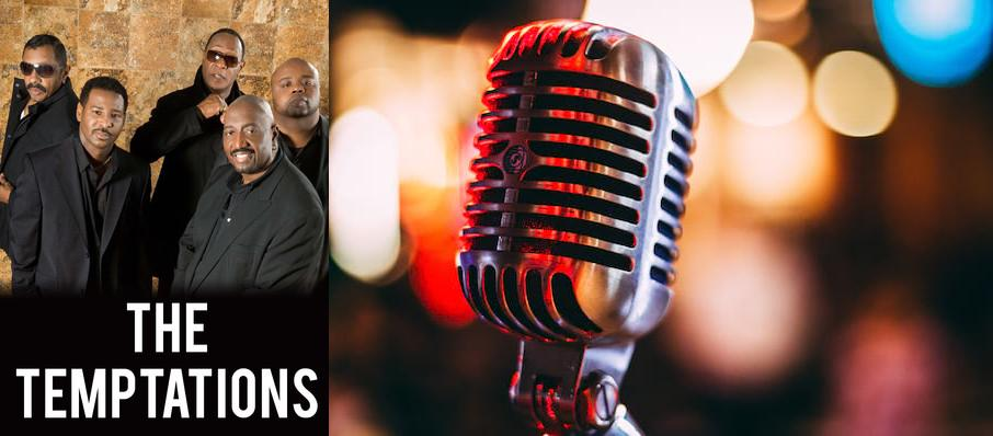 The Temptations at Chevalier Theatre