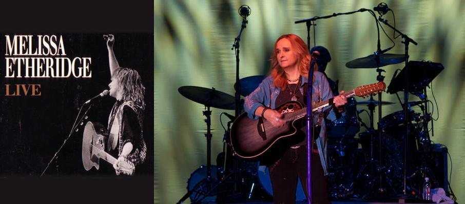 Melissa Etheridge at Emerson Colonial Theater