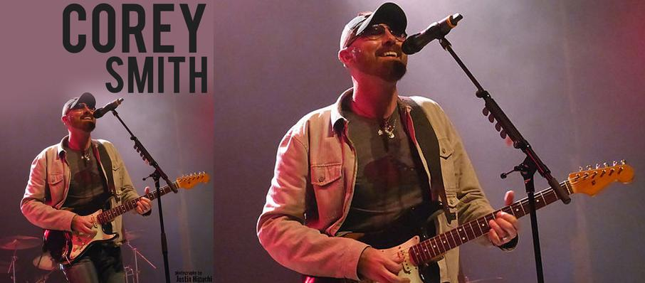 Corey Smith at The Sinclair Music Hall