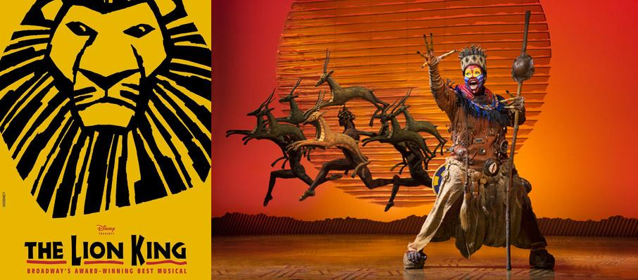 The Lion King at Citizens Bank Opera House