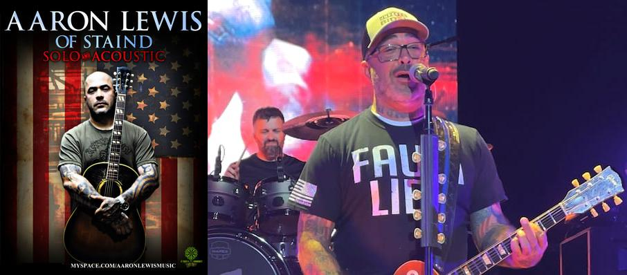 Aaron Lewis at House of Blues