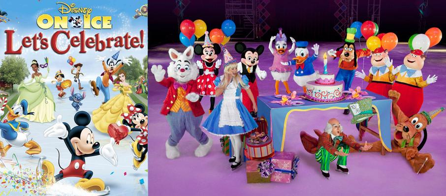 Disney On Ice Let 39 S Celebrate Tickets Calendar Jul 2018 Td Garden Boston