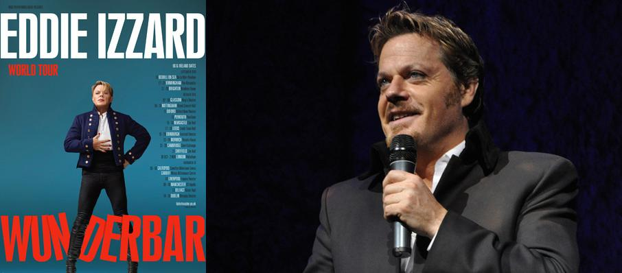 Eddie Izzard at Wang Theater