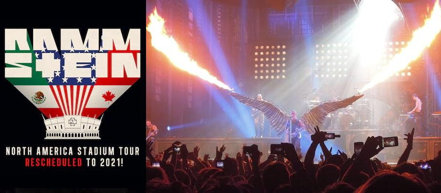 Rammstein at Gillette Stadium