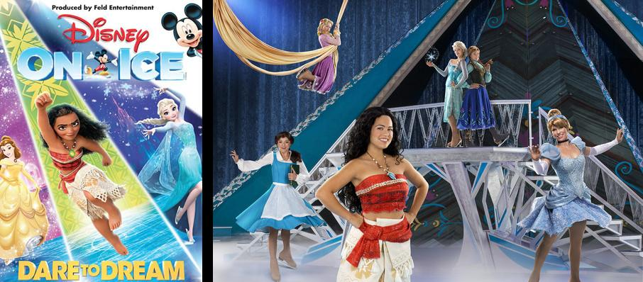 Disney On Ice: Dare To Dream at TD Garden