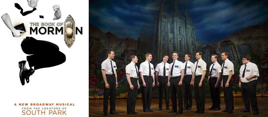 The Book of Mormon at Boston Opera House