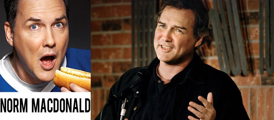 Norm Macdonald at Wilbur Theater