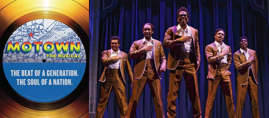 Motown - The Musical at Boston Opera House
