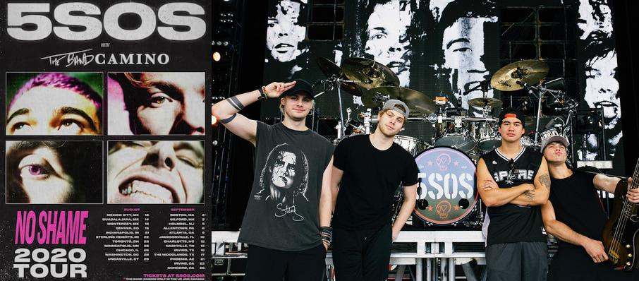 5 Seconds of Summer at Rockland Trust Bank Pavilion