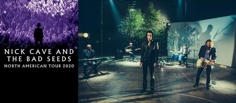 Nick Cave and The Bad Seeds at Wang Theater