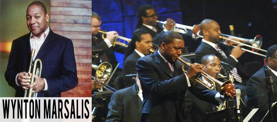 The Jazz at Lincoln Center Orchestra: Wynton Marsalis at Boston Symphony Hall