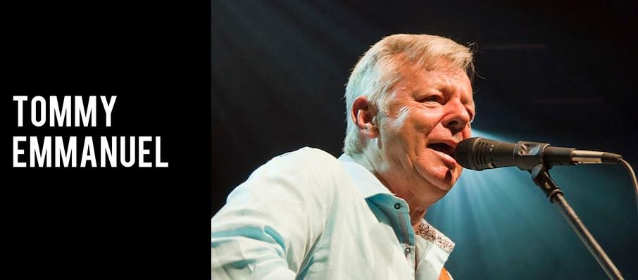 Tommy Emmanuel at Wilbur Theater