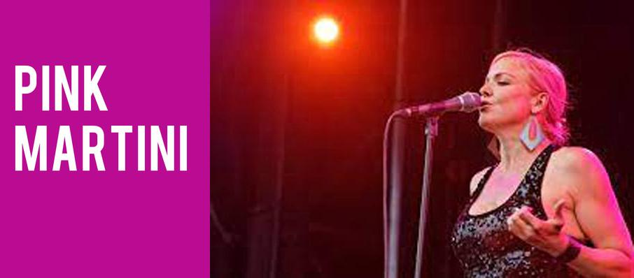 Pink Martini at Berklee Performance Center