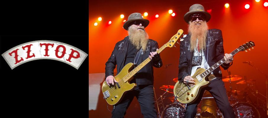 ZZ Top at Rockland Trust Bank Pavilion