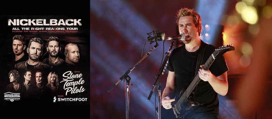 Nickelback at Xfinity Center