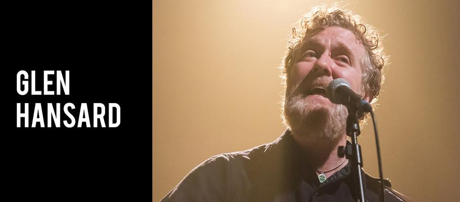Glen Hansard at Orpheum Theater