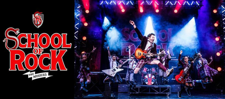 School of Rock at Boston Opera House