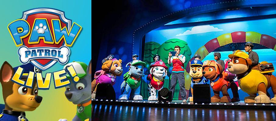 Paw Patrol at Wang Theater