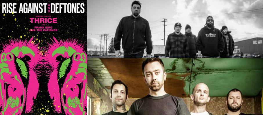 Deftones with Rise Against at Blue Hills Bank Pavilion