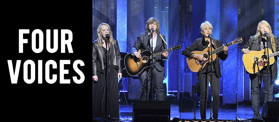 Four Voices - Joan Baez, Mary Chapin Carpenter and Indigo Girls at Tanglewood Music Center