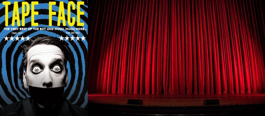 Tape Face at Capitol Center for the Arts
