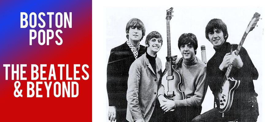 Boston Pops - The Beatles and Beyond at Boston Symphony Hall