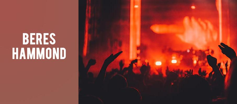 Beres Hammond at House of Blues