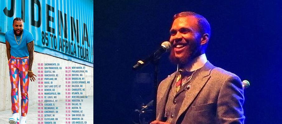 Jidenna at House of Blues