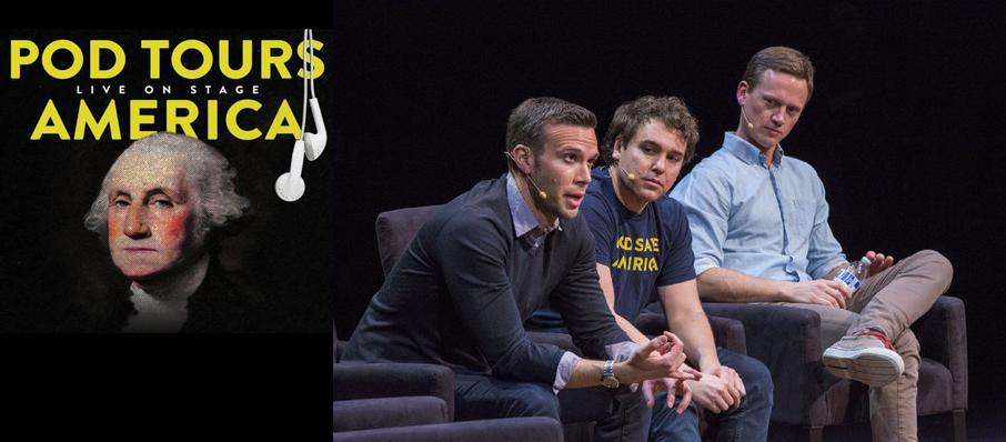 Pod Save America at Wang Theater