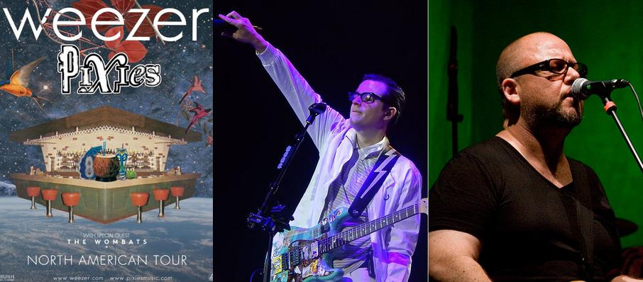 Weezer and Pixies at Xfinity Center