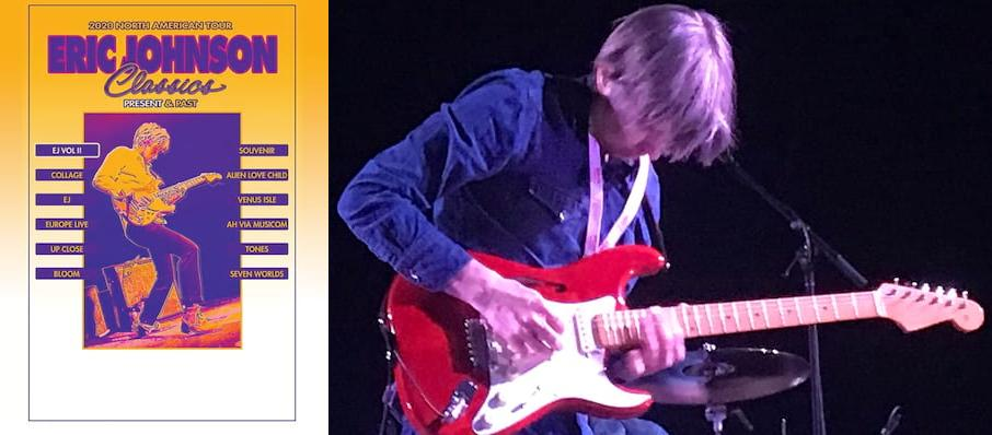 Eric Johnson at Wilbur Theater