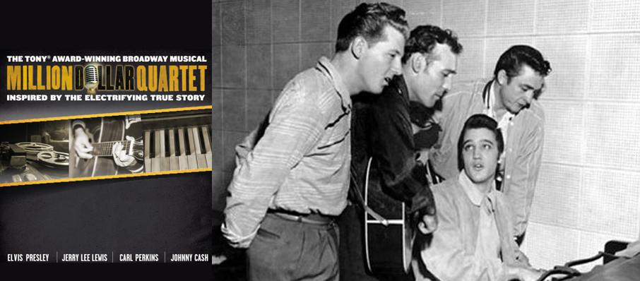 Million Dollar Quartet at Shubert Theatre