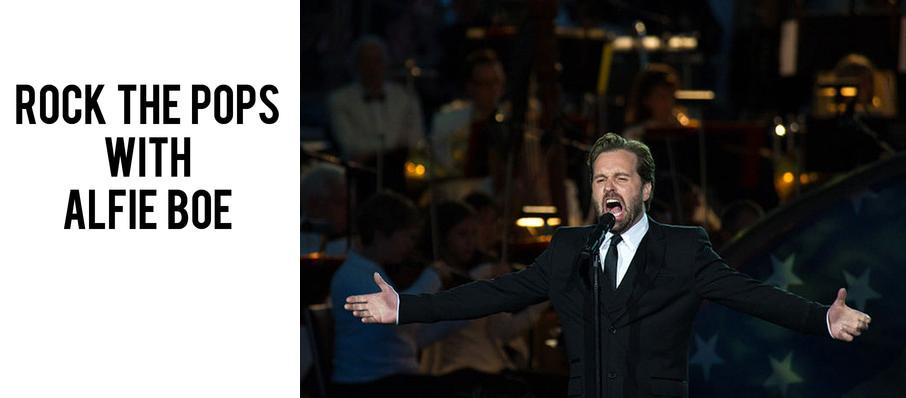 Rock the Pops with Alfie Boe at Boston Symphony Hall