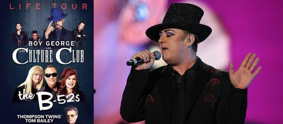 Boy George and Culture Club at Wang Theater