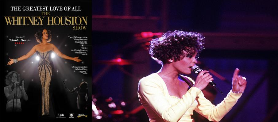 The Greatest Love of All - Whitney Houston Tribute at Wilbur Theater