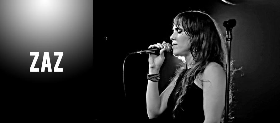 Zaz at Emerson Colonial Theater