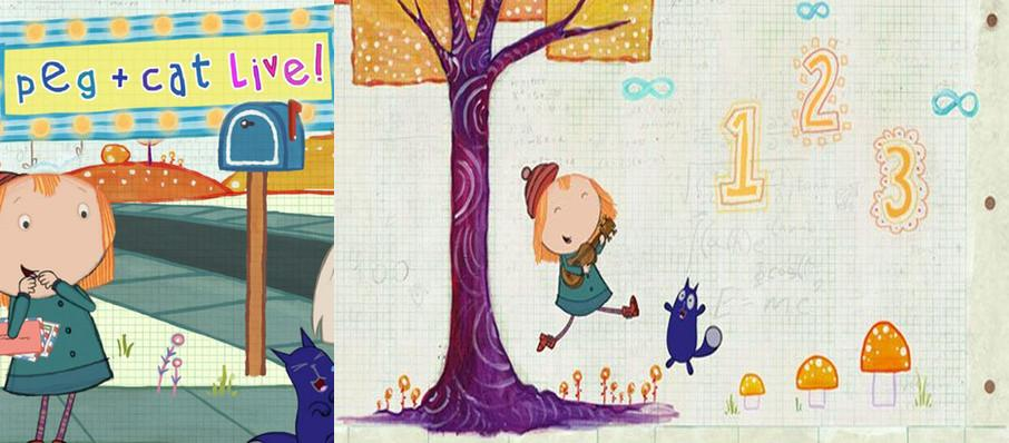 Peg and Cat at Chevalier Theatre