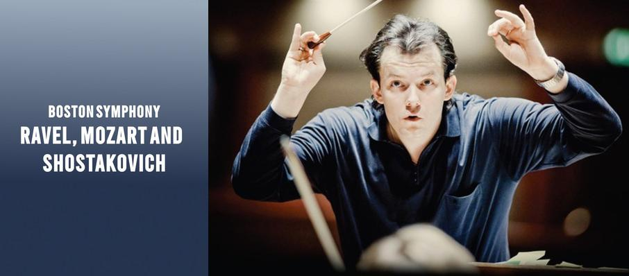 Boston Symphony Orchestra - Ravel, Mozart and Shostakovich at Tanglewood Music Center
