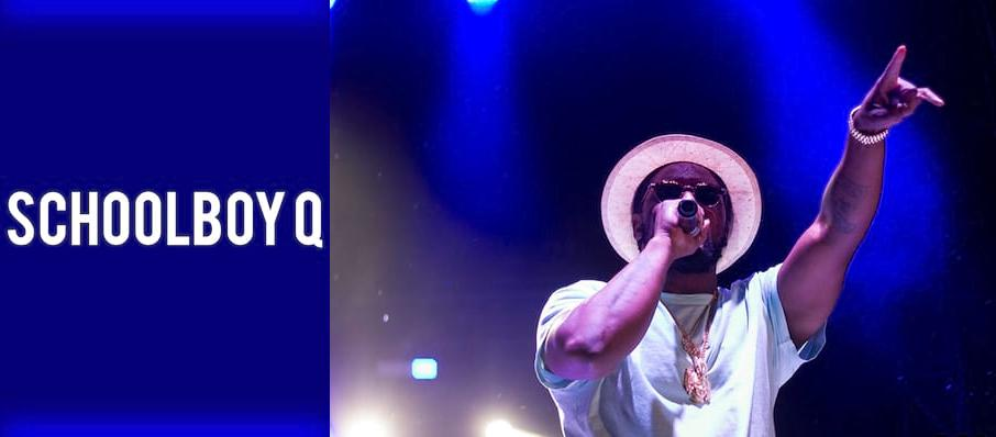 Schoolboy Q at House of Blues