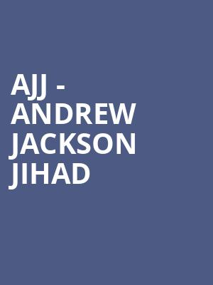 AJJ - Andrew Jackson Jihad at The Sinclair Music Hall